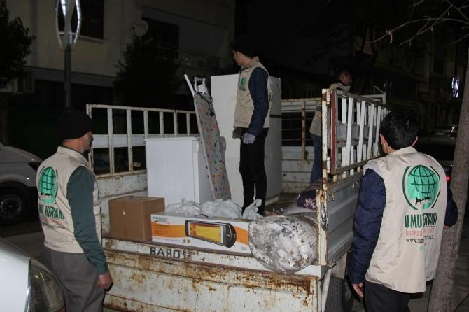 Elâzığ Umut Kervanından depremzede aileye yardım