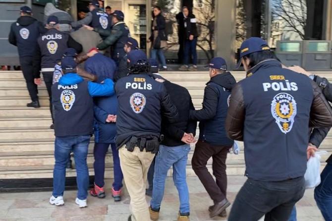 Malatya'da uyuşturucu operasyonunda 10 kişi tutuklandı