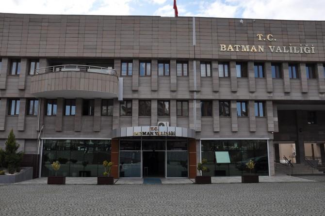 Batman Valiliği bazı etkinliklerin izne bağlandığını duyurdu