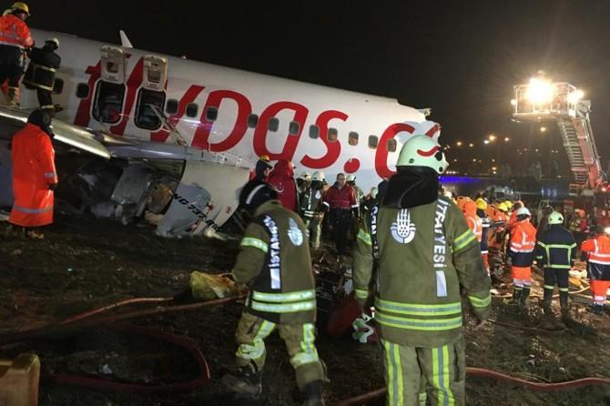 Sabiha Gökçen'deki uçak kazasında kaptan pilot tutuklandı