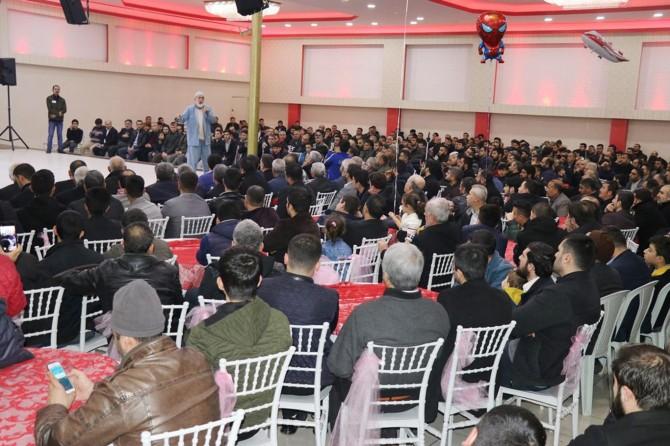 """Mustazaflar Cemiyeti Gaziantep'te """"Şehitler Gecesi"""" etkinliği düzenledi"""