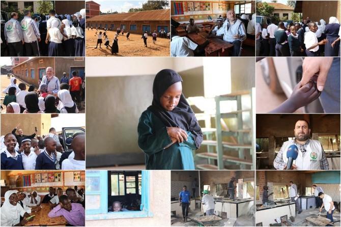 Avrupa Yetim Eli Uganda'daki yardım çalışmalarıyla yüzleri güldürüyor