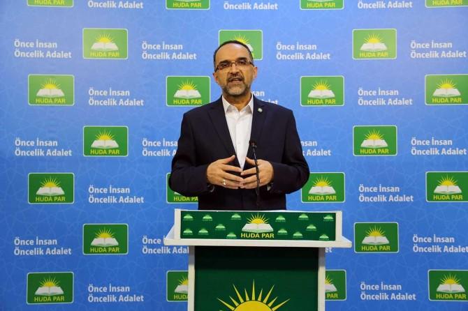 """HÜDA PAR Genel Başkanı İshak Sağlam: """"Kürtçenin korunması adalet ve hakkaniyet gereğidir"""""""
