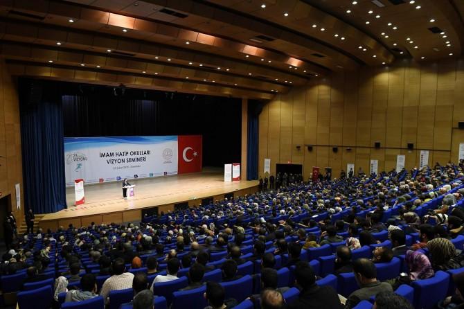 Bakan Ziya Selçuk Diyarbakır'da 'İmam Hatip Okulları Vizyon Semineri'ne katıldı