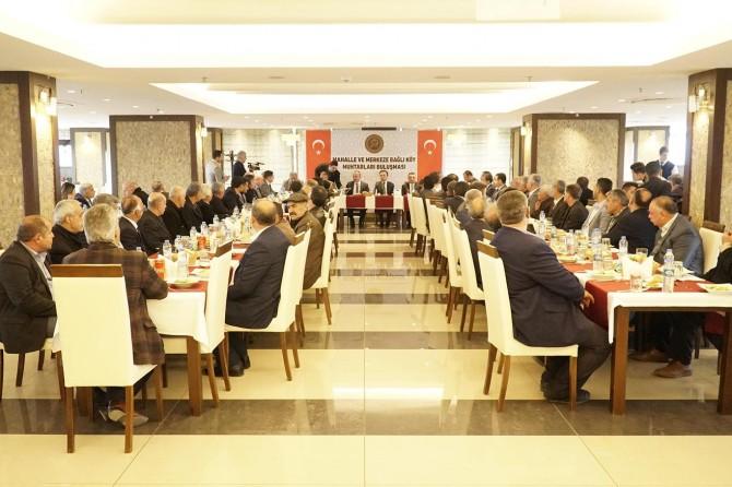 Siirt'te köylerin sorunları masaya yatırıldı