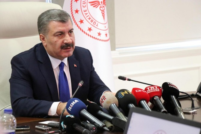 Bakan Koca: Türkiye'de corona virüse rastlanmadı