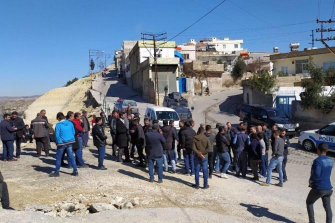 Evleri boşaltılan mahalle sakinlerinin basın açıklaması yapmasına izin verilmedi