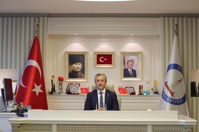 Şahinbey Belediye Başkanı Mehmet Tahmazoğlu üç aylar ve Regaib Kandilini kutladı