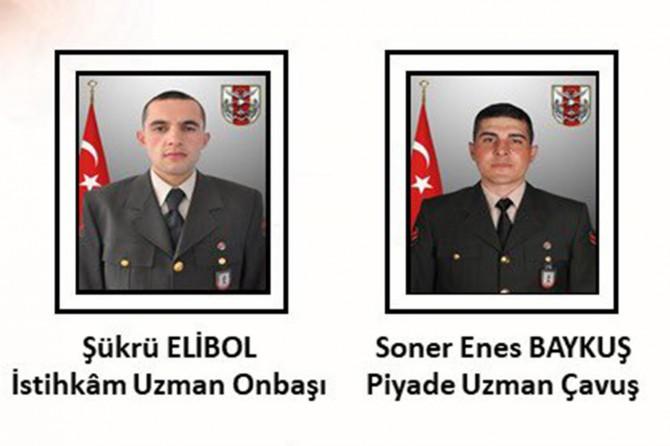 İdlib'de 2 asker hayatını kaybetti, 2 asker yaralandı