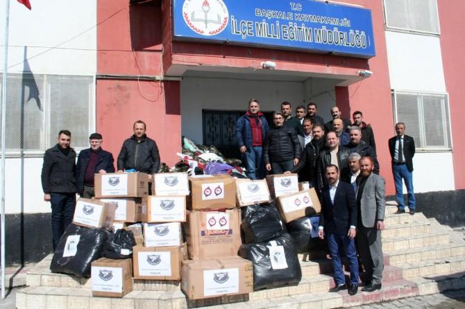 """""""Kardeşim Üşümesin"""" projesiyle Trabzon'dan Van'a gönül köprüsü kuruldu"""