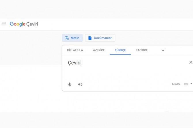Google Çeviri, 3 yeni Türkî dili hizmete sunuyor