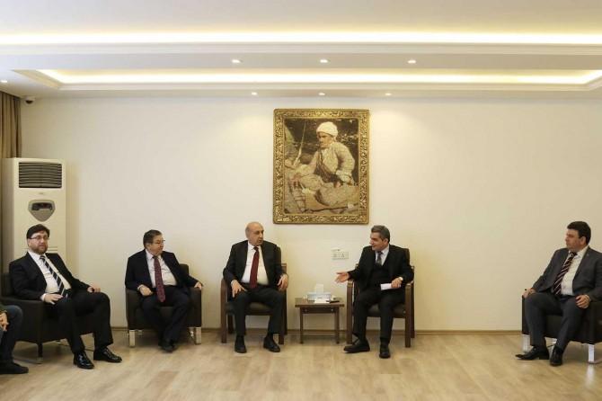 """IKBY Erbil Valisi Sofi: """"Diyarbakır'ın gelişimi bizleri çok mutlu ediyor"""""""