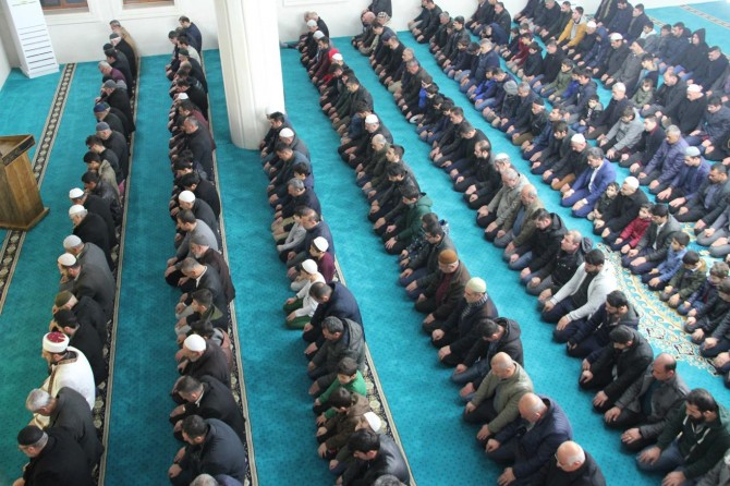 Midyat'ta Regaib Kandili dua ve ibadetlerle ihya edildi