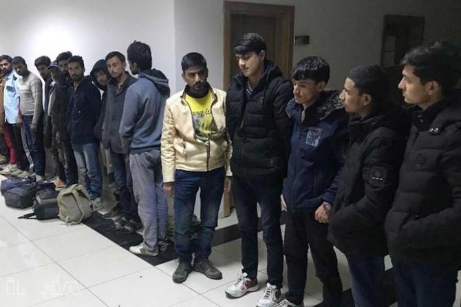 Türkiye -Yunanistan sınırında göçmen hareketliliği
