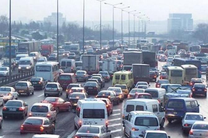 Ocak ayında 94 bin 540 adet taşıtın trafiğe kaydı yapıldı