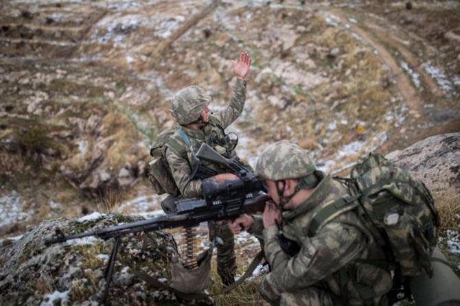 Metina ve Gara bölgesine düzenlenen operasyonda 6 PKK'li öldürüldü