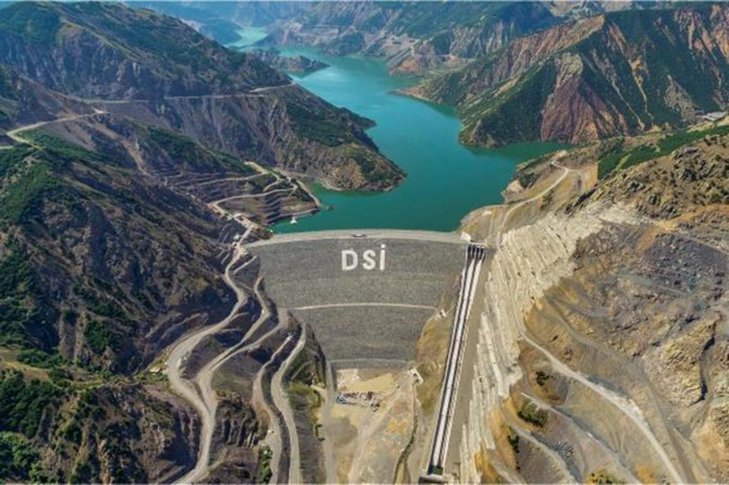 Bingöl'de 17 yılda 6 baraj, 2 gölet yapıldı