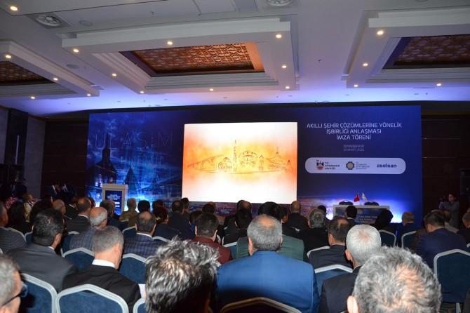 DBB ile ASELSAN arasında 'Akıllı Şehir Protokolü' imza töreni düzenlendi