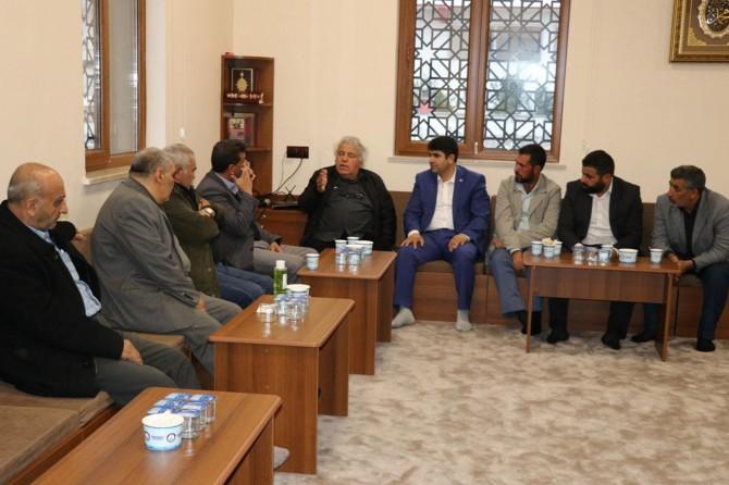 HÜDA PAR Gaziantep İl Başkanlığı Şehid Kamil'in kardeşinin taziyesine katıldı