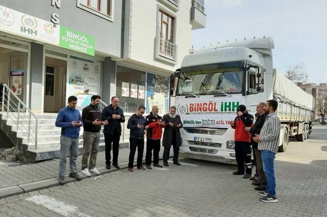 Bingöl'den İdlib'e insani yardım