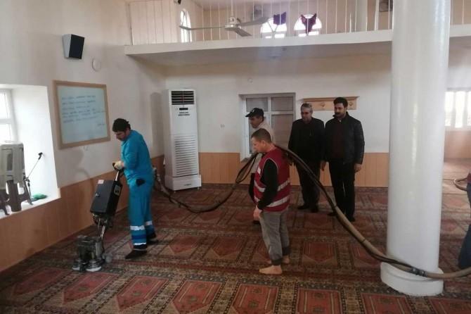 Ceylanpınar'da Corona virüse karşı tedbir çalışmaları devam ediyor