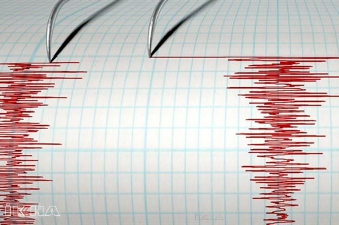 Bodrum'da 4.1 büyüklüğünde deprem