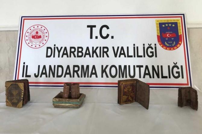 Bismil'de tarihi eser operasyonu: 6 gözaltı