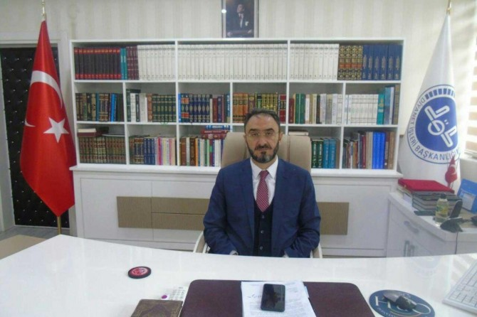 Diyarbakır İl Müftüsünden Miraç Kandili mesajı