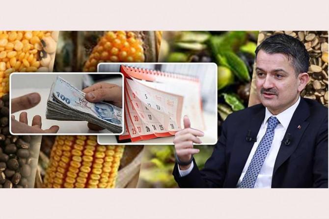 Corona virüsle mücadele kapsamında tarımsal desteklere başvuru süresi uzatıldı