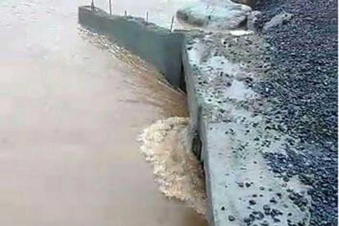 Bağlar Belediyesinin kırsal bölgelerde yaptığı menfezler sel baskınlarını önledi