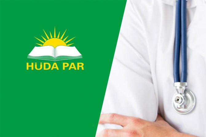 HÜDA PAR: Sağlık çalışanlarının durumları iyileştirilmelidir