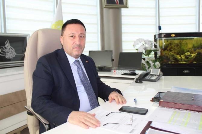 Bağlar Belediye Başkanı Hüseyin Beyoğlu'ndan Miraç Kandili mesajı