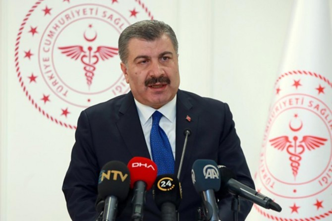 289 new cases confirmed with coronavirus in Turkey, Health Minister says