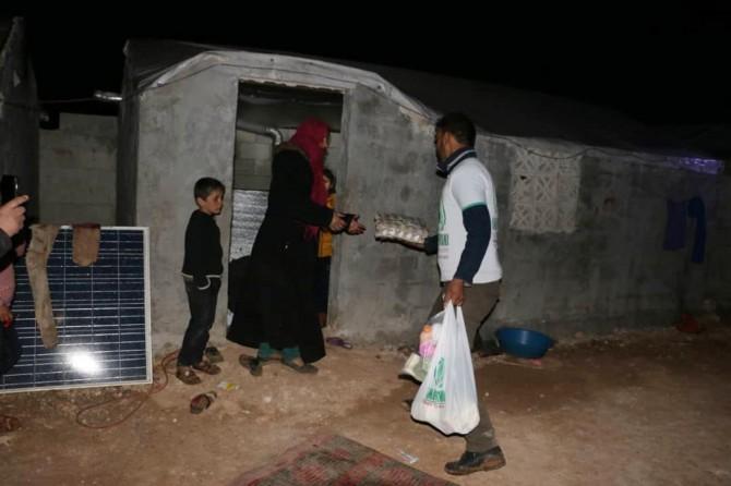 Mardin STK Platformu'nun yardımları İdlib'e ulaştı