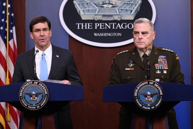 ABD Savunma Bakanı ve Genelkurmay Başkanı: 'Corona salgını daha aylarca sürebilir'