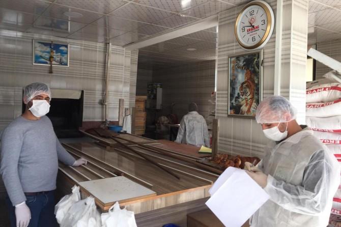 Diyarbakır'da gıda işletmelerinde Covid-19 tedbirleri denetlendi