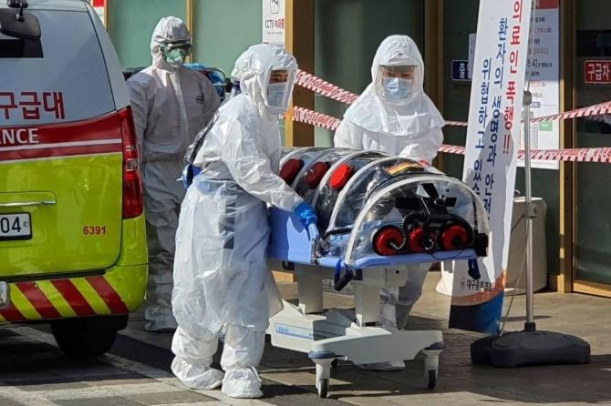 Li Koreya Başûr bi 104 kesên din re jî Coronavîrus hat tespîtkirin