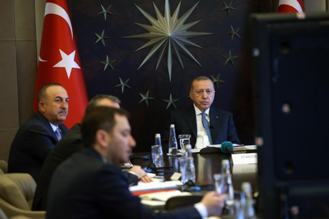 The world must exert joint efforts to ensure global confidence, Erdoğan says