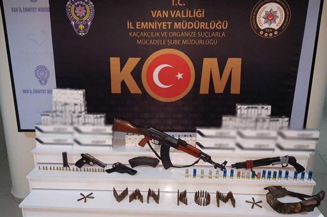 Van'da kaçakçılık operasyonunda bir kişi gözaltına alındı