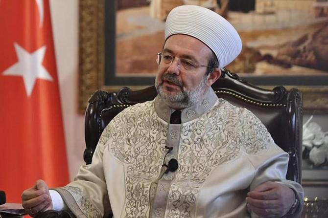 "Prof. Dr. Mehmet Görmez: ""Musibetleri rahmete çevirelim"""