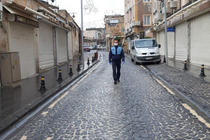 Mardin'de Coronavirus sessizliği