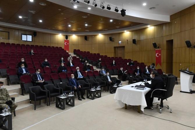 Diyarbakır'da Pandemi Kurulu Toplantısı yapıldı