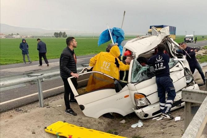 Nusaybin Girmeli'de yaşanan kazada 1 kişi hayatını kaybetti