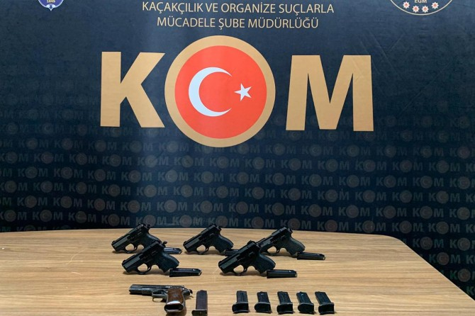Malatya'da silah ticareti yapanlara operasyon düzenlendi