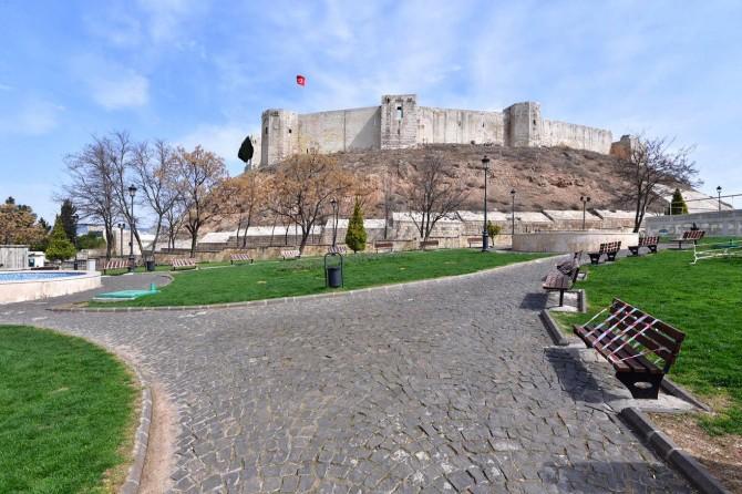 Gaziantep'te Coronavirus sessizliği kentin her yerine yansıdı