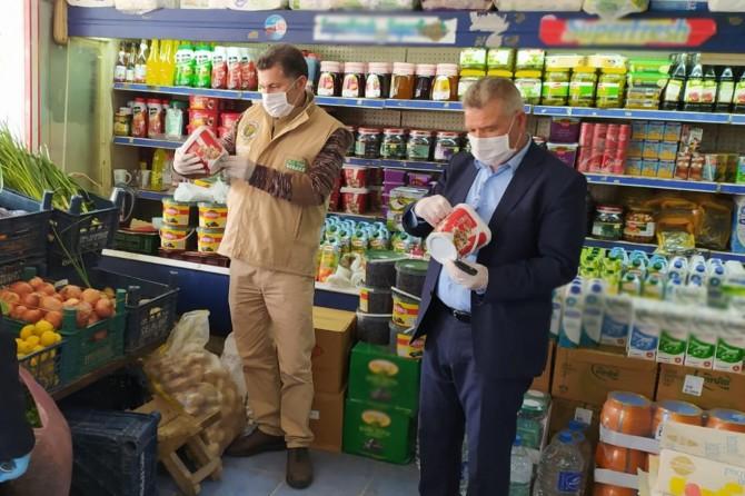 Şanlıurfa'da virüs salgınına karşı işyerleri denetlendi