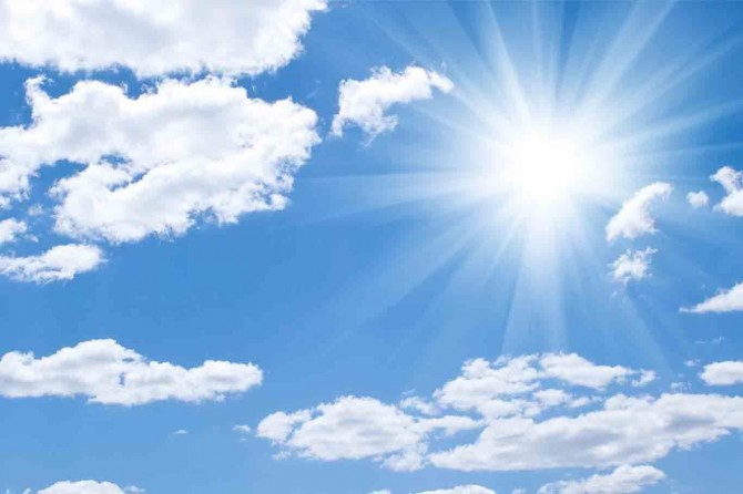 Hava sıcaklığı batı kesimlerde 2 ila 5 derece artacak