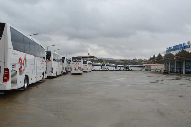 Siirt'te şehirlerarası otobüs seferleri durdu