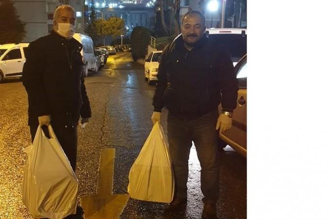 Kudüs Gönüllüleri, onlarca muhtaç aileye gıda yardımında bulundu
