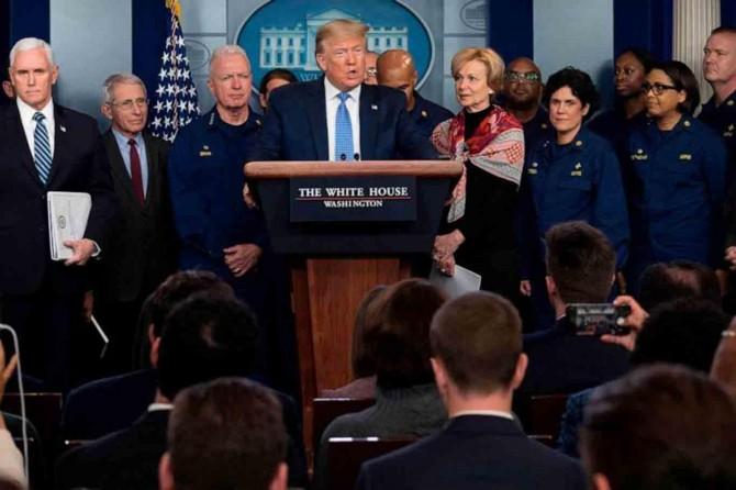 Trump wextê tevdîrên ku li dijî Coronavîrus'ê hatibûn standin heta 30ê Nîsanê dirêj kir